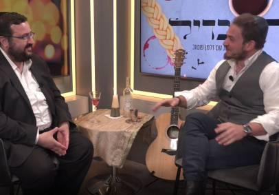 משה פרידמן עם זלמן שטוב