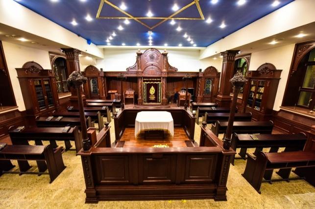 בית הכנסת המשופץ