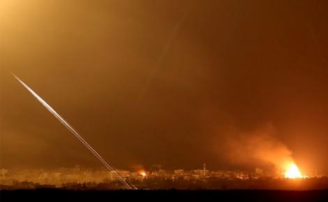 ירי מעזה, ארכיון - רקטות בדרום; חיל האוויר תקף מטרות בעזה