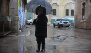 התחזית: ירד גשם קל - ויהיה קר מהרגיל