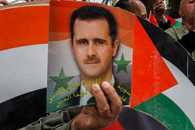 הפגנות בשכם נגד הטבח הכימי בסוריה