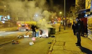 קיצונים עצרו את עבודות הרכבת: 10 עצורים