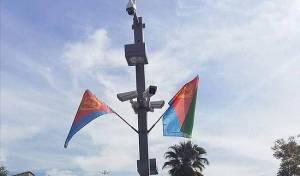 הדגלים שנתלו