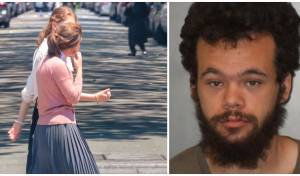 מימין: כריסטופר ליונס; משמאל: חרדיות בניו יורק, ארכיון