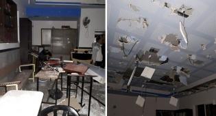 הפוגרום בית הכנסת - ירושלים: פוגרום בבית הכנסת 'מוסאיוף'. צפו