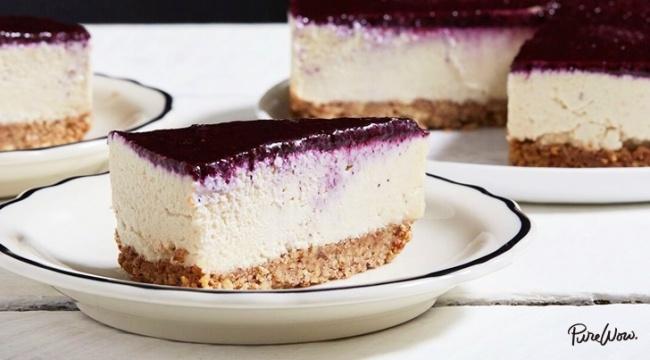 עוגת גבינה עשירה פרווה