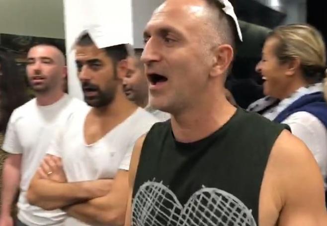 עומר אדם, ציון ברוך ואסי ישראלוף  ב'הדלקה'