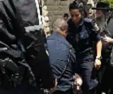 המהומה - והמעצר - מהומה: גורמי רווחה הוציאו ילד מביתו • צפו