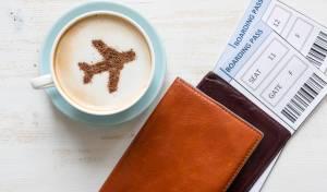 בגלל כוס קפה: המטוס שב על עקבותיו