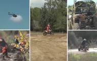 צפו: מבצע נגד טרקטורונים ואופנועי שטח