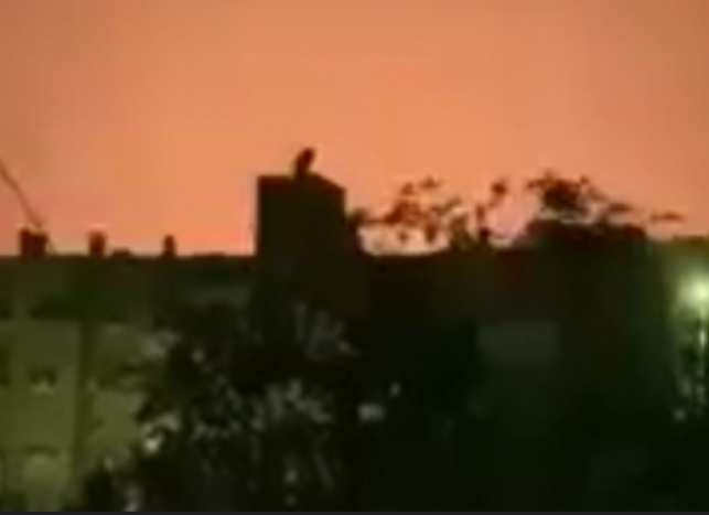 התקיפה בדמשק, הלילה