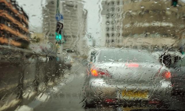 לילה חורפי: גשמים עזים בכל הארץ