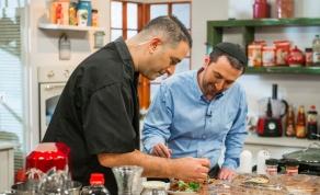 צפו: אבי לוי וניר קפטן במטבח כיכר השבת