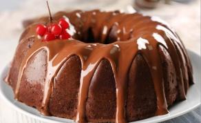עוגת שוקולד מארבעה מרכיבים בלבד - ללא קמח