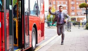 לקחת 17 אוטובוסים כדי להגיע לעבודה. אילוסטרציה