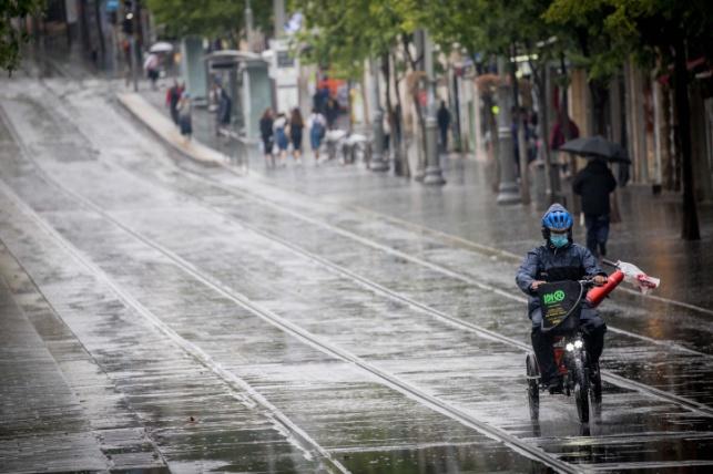 הגשם שירד השבוע