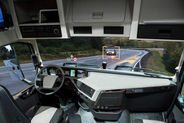 רכב אוטונומי (אילוסטרציה)