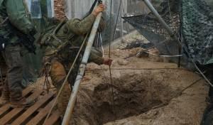 """לראשונה: צה""""ל פוצץ מנהרה של חיזבאללה"""