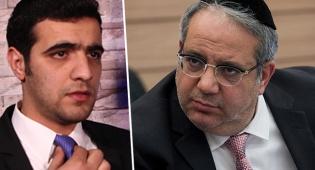 """ח""""כ יגאל גואטה וכתב 'כיכר השבת' ישי כהן"""