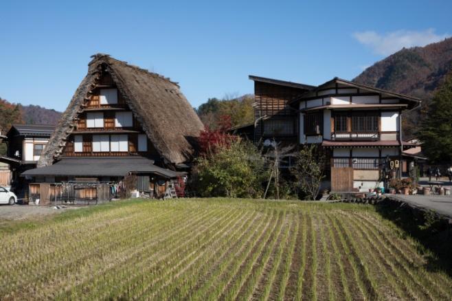 טיול לכפר יפני מסורתי דרך עדשת המצלמה