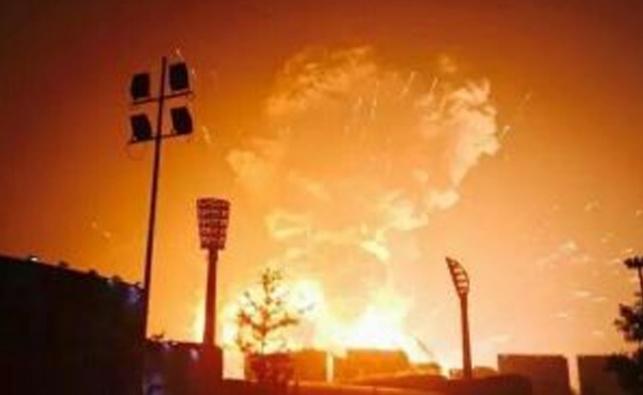 למעלה מ-10 אלף רכבים ניזוקו בפיצוץ בסין