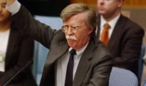 """בולטון בימיו כשגריר באו""""ם"""