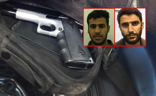 המחבלים והאקדח