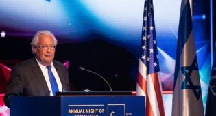 """השגריר בארץ תמך בסיפוח, ארה""""ב הבהירה"""