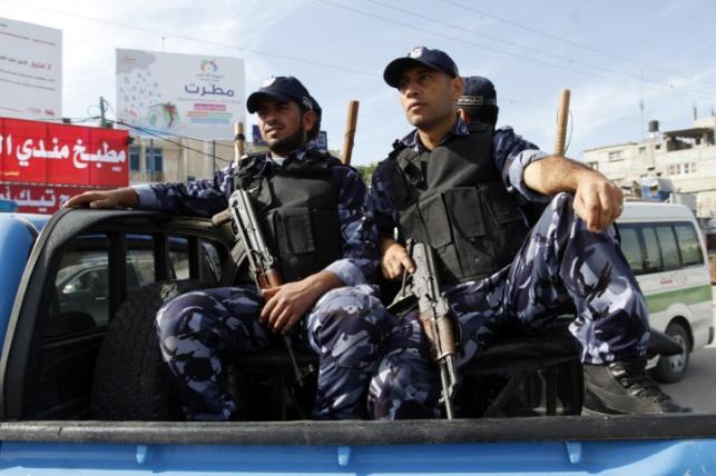 שוטרים פלסטינים