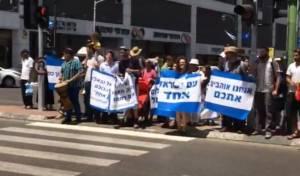 חילונים קיימו 'מצעד אהבה' בבני ברק