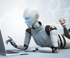 """רובוט. אילוסטרציה - """"בעוד 30 שנה רובוטים יחליפו את המנכ""""לים"""""""