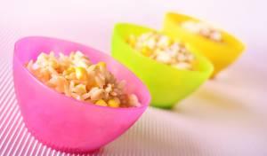 ארוחת ילדים מהירה: פתיתים ותירס