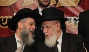 """הגר""""ד כהן עם הנשיא החדש של המועצת - הרב שלום כהן - נשיא המועצת"""