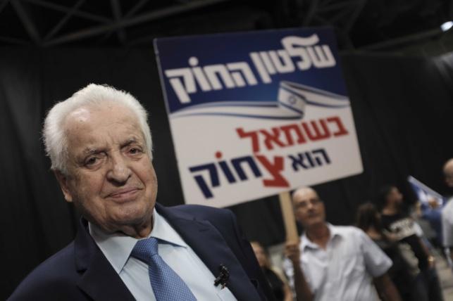 """ח""""כ לשעבר, שמואל פלאטו שרון, נפטר"""