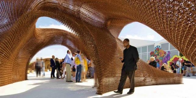 בניין שהודפס בתלת ממד - לראשונה בעולם