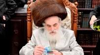 הרבי מויז'ניץ: 'איני רגוע; לא להיות יחד בחג'