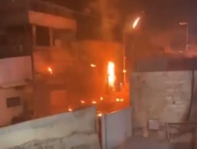 """קטטה במזרח ירושלים; בקת""""ב, זיקוקים וירי"""