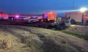 רכב ומשאית התנגשו; נהג הרכב נהרג