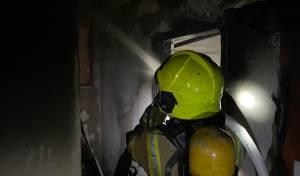 שני נפגעים בשריפה שפרצה בפתח תקווה