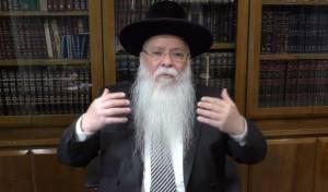 הרב מרדכי מלכא על פרשת ניצבים • צפו