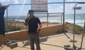 אפליה בנתניה: מנעו מחרדים להיכנס לחוף