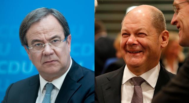 גרמניה: המרכז-שמאל מוביל באחוז אחד