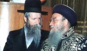 """הרב בקשי דורון עם יבל""""א הרב גרוסמן"""
