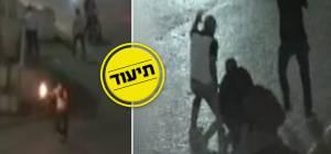 צפו: מעצר דרמטי של מסתערבים בשועאפט
