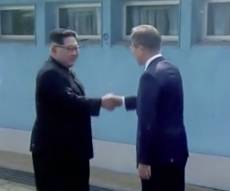 המפגש ההיסטורי - לעיני העולם: קים יסגור את אתר הגרעין