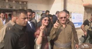 מצביעים כורדים - בדרך לעצמאות: משאל עם בכורדיסטאן