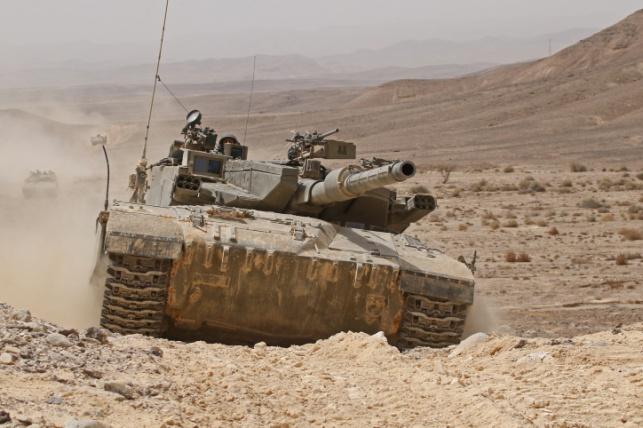 """דיווח בסוריה: צה""""ל ירה פגז טנק אל קוניטרה"""