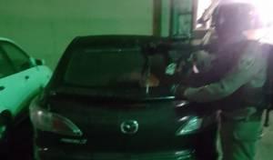 4 רכבים גנובים נתפסו בקלנדיה; 2 נעצרו