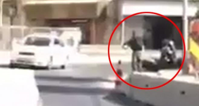 צפו: רגע נטרול המחבל בפיגוע בירושלים