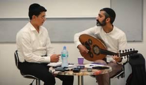 זיו יחזקאל והנער אורי אריאלי: 'המבורך'
